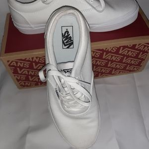 White Van's- new w/ box  size 5.5 men or 7.5 women